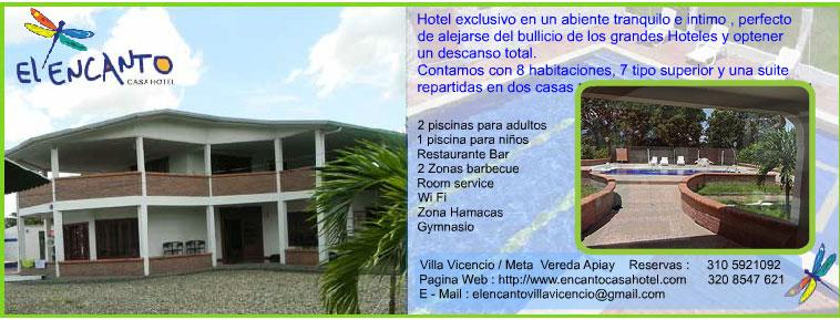 Hoteles en villavicencio fincas campestres vacacionales en for Hoteles con habitaciones familiares en san sebastian