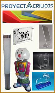 productos en acrilico