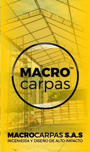 Cubrimientos membranas macrocarpas