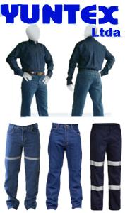 ropa de trabajo yuntex