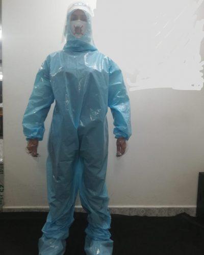 trajes de bioseguridad
